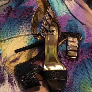Rage Black heel